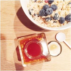 ontbijt bladgoud