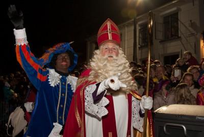 Sint en Piet in Elburg