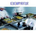Koken begint met professionele apparatuur