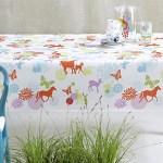Hoe je je tafel beschermt met een hip tafelkleed