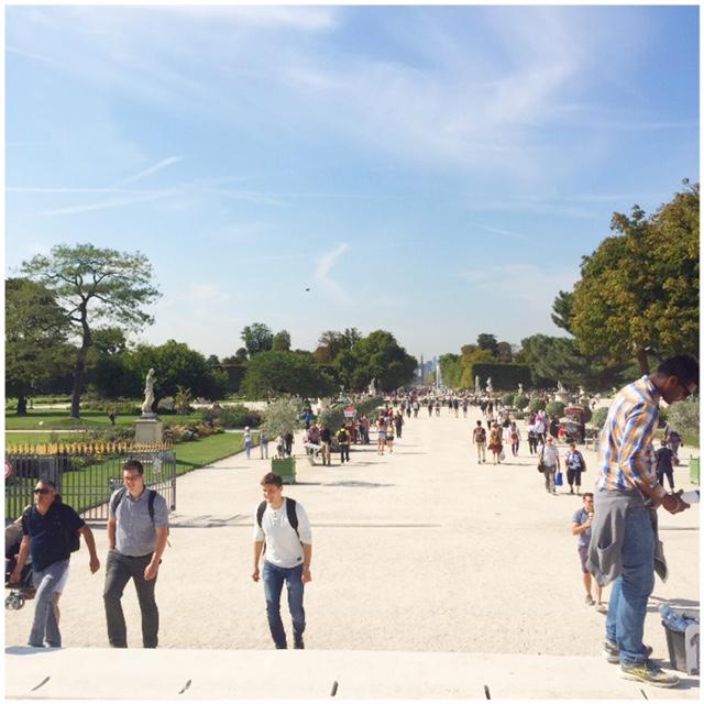 must do's voor Parijs Picknicken in het park Jardin les tuileries