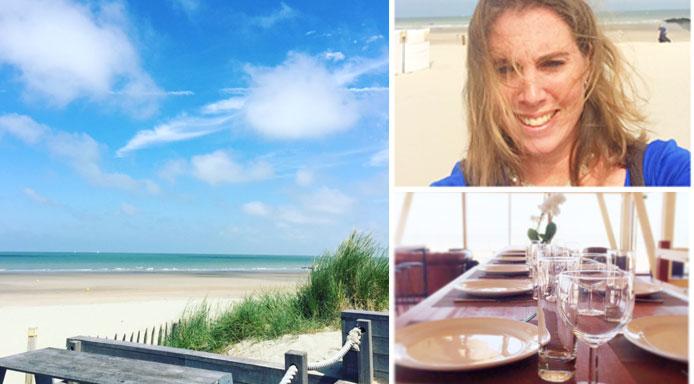 Bredene-lunch-en-strand