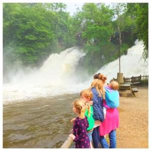 Ardennen met kinderen, de watervallen coo