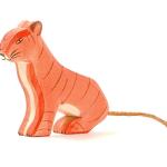 Ostheimer tijger zittend