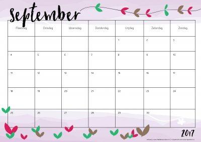jaarkalender-2017-september