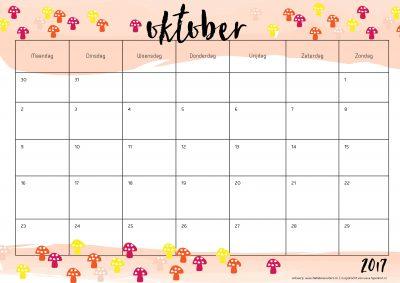 printable-jaarkalender-2017-oktober