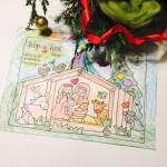 Kleurplaat kerststal