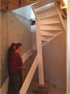 trap-wordt-geplaatst