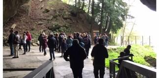 grotten van han uitgang