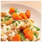 Recept: couscous met pompoen en feta