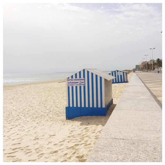 Op vakantie naar Tunesië boulevard sousse