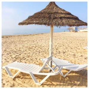 Op vakantie naar Tunesië parasol hammamet