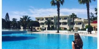 zwembad tunesie hammamet hotel royal