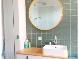 badkamer spiegel hink