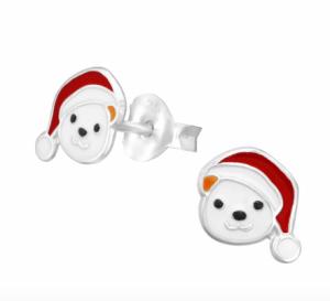 ijsberen met kerstmuts