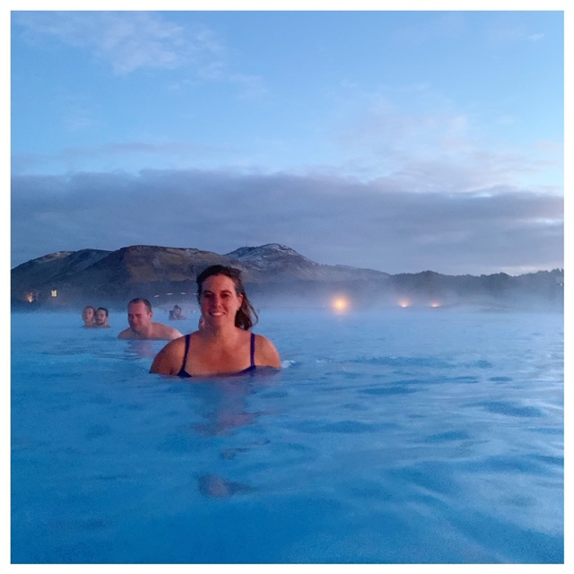 the blue lagoon in IJsland