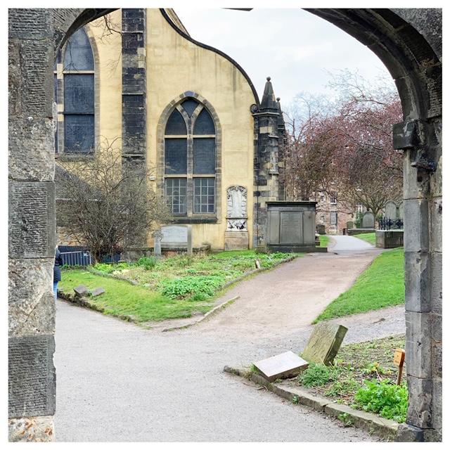 begraafplaats edinburgh