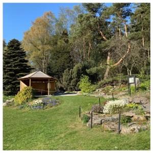 botanische tuin stavanger prieeltje
