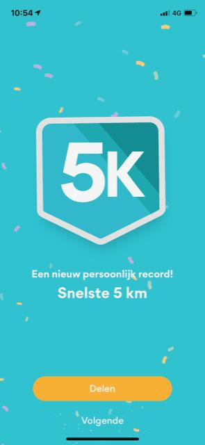 record hardlopen 5 km