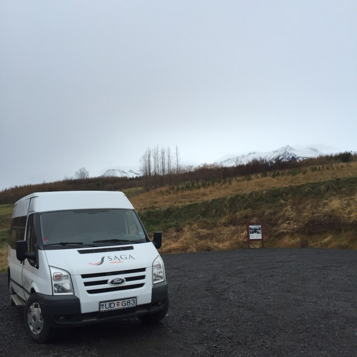 auto parkeren Jólagarðurinn
