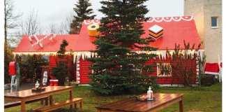 picknicktafels christmas garden
