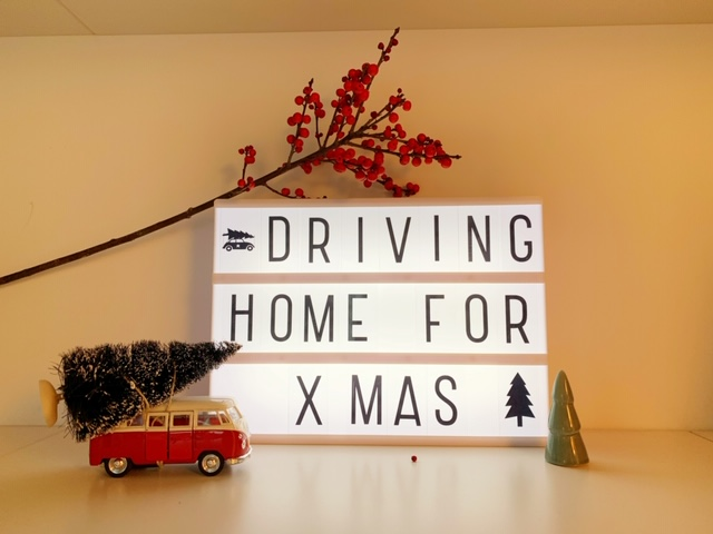 driving home for x mas
