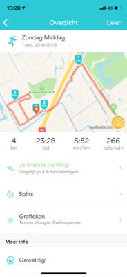 hardlopen 1 dec 2019