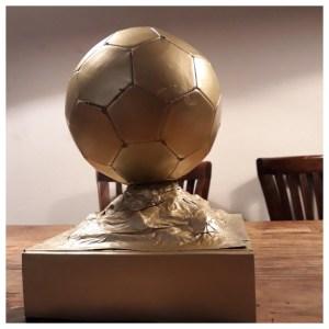Sinterklaas surprise ideeën voetbalbeker