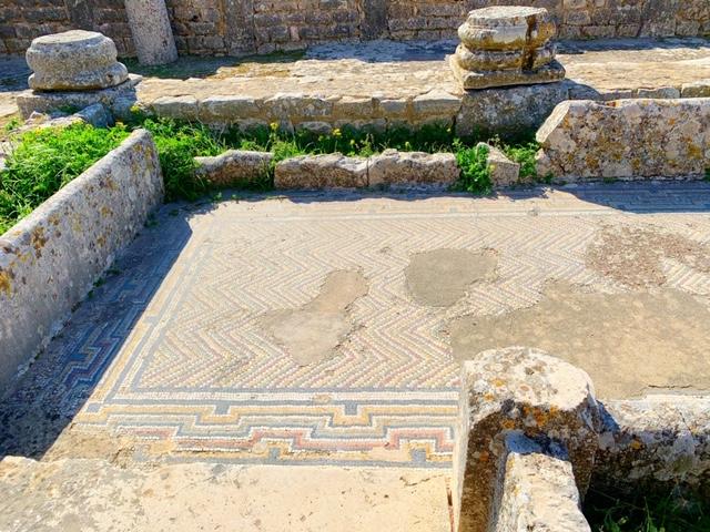 Mozaiek Dougga badhuis