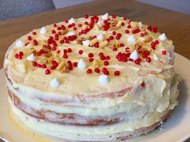 Pink Velvet Cake voor Valentijnsdag