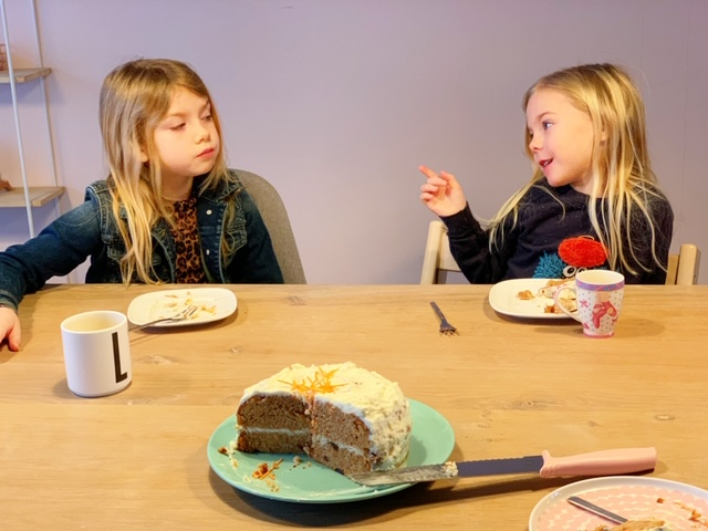 carrot cake als ontbijt