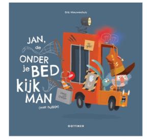 Boeken voor kinderen die bang zijn als ze gaan slapen jan de onderjebedkijkman