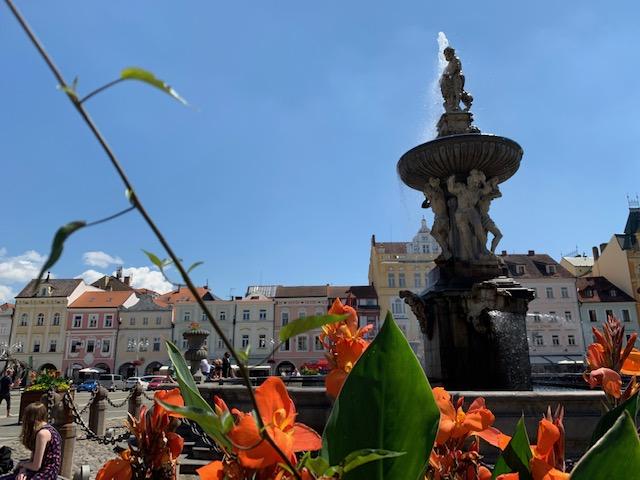 ceske budejovice fontein