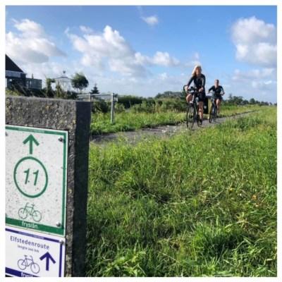 juut lau op de fiets knooppunt 11