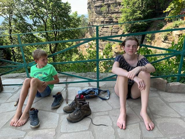 kids verhit uitrusten bij pravcicka brana