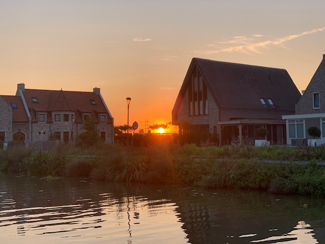 sunset brasserie in de wijk