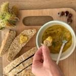 Kastanje pesto, een recept voor bij brood of groenten