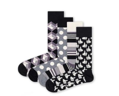 Top 10 leuke cadeaus voor de feestdagen happy socks zwart wit