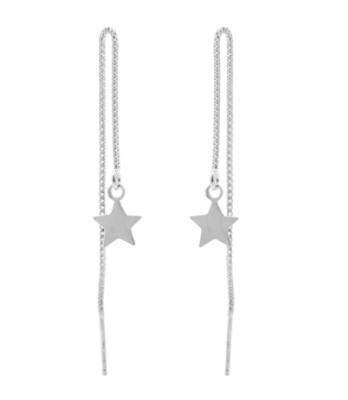 oorbellen zilveren sterren