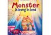 Kinderboeken over monsters monster is bang in bed