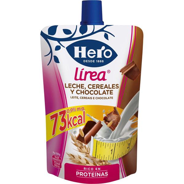 Resultado de imagen de bolsita con leche, cereales y chocolate Hero