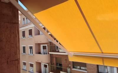 Cambio de lona en Las Rozas Madrid – renovamos su toldo