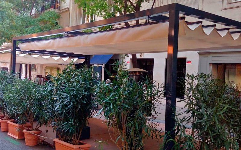 cerramientos restaurantes Madrid Serrano