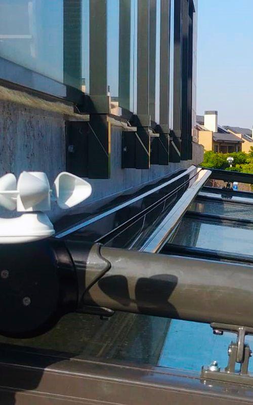 toldos veranda sensor sol viento