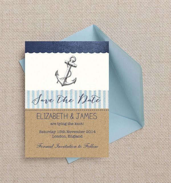 Christmas Themed Save Date Cards