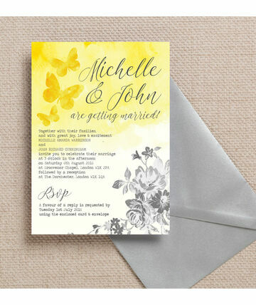 Simple Wedding Invites To Inspire You How Make The Invitation Look Fair 20