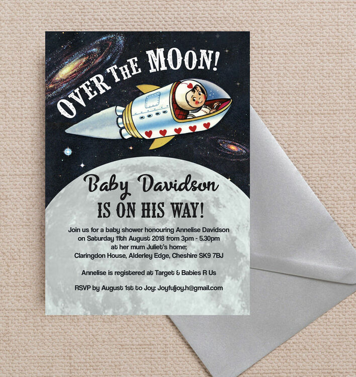 Professional Baby Shower Invitations