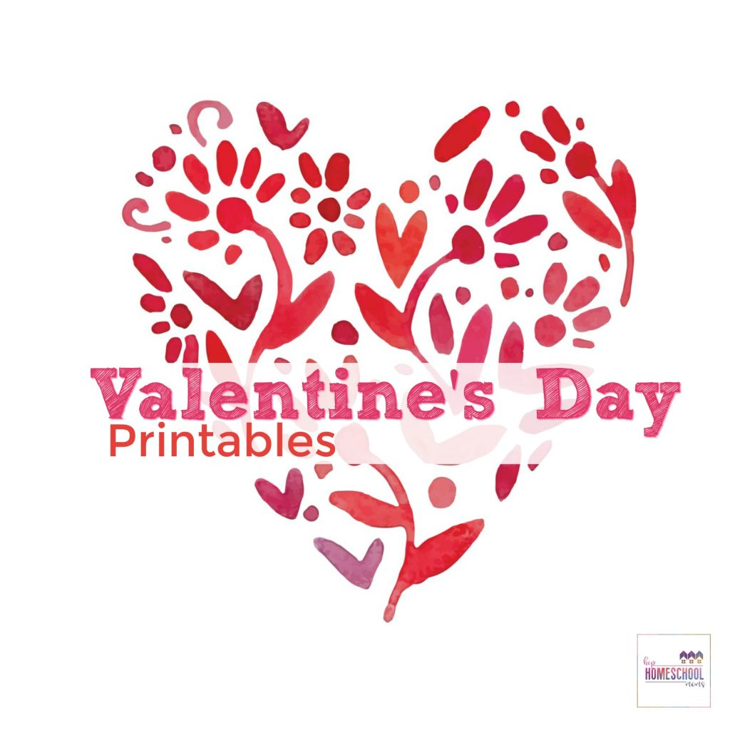 Free Printable Valentines Day Coloring Pages Activity