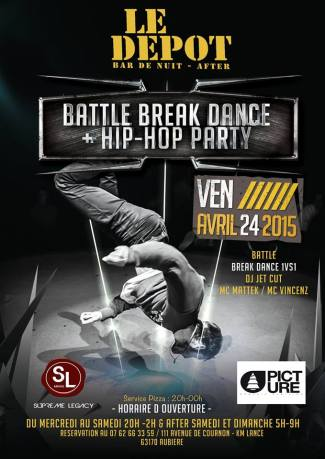 Battle Break Dance + Hip-Hop Party -Bar le Depot (63)