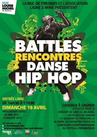 Battle/rencontres danse hip hop